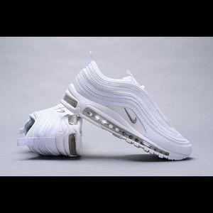 Nike Shoes Air Max 97 Triple White Poshmark
